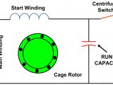 Single Phase Capacitor Start Run Motor Wiring Diagram Types Of Single Phase Induction Motors Single Phase
