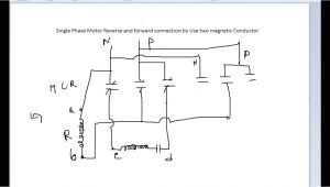 Single Phase forward Reverse Motor Wiring Diagram Single Phase Motor Wiring Diagram forward Reverse Best Of Single