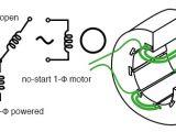 Single Phase Motor Wiring Diagram with Capacitor Start Capacitor Run Single Phase Induction Motors Ac Motors Electronics Textbook