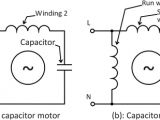 Single Phase Motor Wiring Diagram with Capacitor What is the Wiring Of A Single Phase Motor Quora