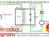 Single Pole Relay Wiring Diagram 4 Wire Relay Diagram Electrical Schematic Wiring Diagram