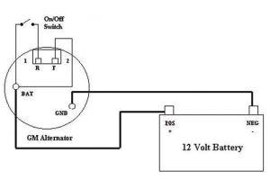 Single Wire Alternator Wiring Diagram 2wire Alternator Diagram Yamaha 750 Search Wiring Diagram