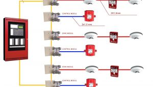 Smoke Detector Wiring Diagram Addressable Fire Alarm Wiring Diagram Wiring Diagram