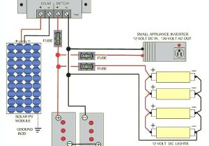 Solar Panel Charge Controller Wiring Diagram solar Power Wire Diagram Wiring Diagram Rows