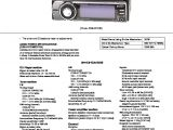 Sony Cdx Gt930ui Wiring Diagram sony Car Audio Service Manuals Page 13