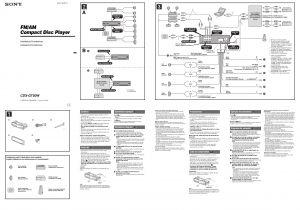 Sony Xplod 52wx4 Wiring Harness Diagram sony Car Stereo Cdx Gt360mp Wiring Diagram Diagram Base