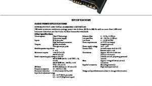 Sony Xplod Xm Gtx1852 Wiring Diagram sony Car Audio Service Manuals Page 26