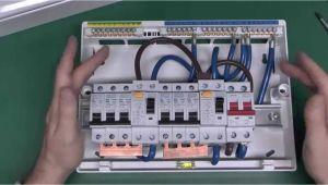Split Load Consumer Unit Wiring Diagram Dual Rcd Consumer Unit Youtube