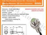 Square D Pumptrol Wiring Diagram Dc Npn 3 Wire No Nomal Open Proximity Sensors 2m Body M8