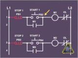 Start Stop Push button Station Wiring Diagram Electrical Wiring Electrical Circuits Wiring Tutorial Youtube