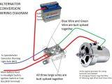 Starter Generator Voltage Regulator Wiring Diagram Alternator Conversion Instructions with Images Vw