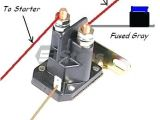 Starter solenoid Wiring Diagram for Lawn Mower Riding Lawn Mower solenoid Wiring Diagram Wiring Diagram