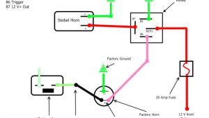 Stebel Air Horn Wiring Diagram I Have A Stebel Air Horn that I Added to the Truck Used A Relay