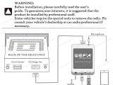 Subaru Mcintosh Wiring Diagram Wefa Subaru Bluetooth Usb Aux Integration Kit