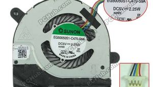 Sunon Fan Wiring Diagram Free Shipping for Sunon Eg50050s1 C470 S9a Dc 5v 2 25w 4 Wire 4 Pin