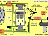 Switch Plug Combo Wiring Diagram Wiring A Light Switch and Gfci Schematic Free Download Wiring Diagram