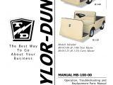 Taylor Dunn B2 48 Wiring Diagram Taylor Dunn B 100 Manual Manualzz Com
