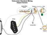Tele Wiring Diagrams Standard Telecaster Wiring Diagram Sample
