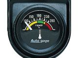 Temperature Gauge Wiring Diagram Auto Meter 2355 Autogage Electric Water Temperature Gauge Check
