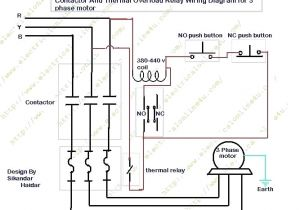 Thermal Overload Relay Wiring Diagram Wiring Diagram Contactor and Overload Wiring Diagram Technic