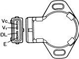 Throttle Position Sensor Wiring Diagram Throttle Position Sensor Wiring Harness Wiring Diagram Fascinating