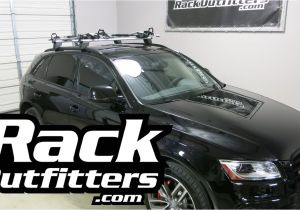 Thule Audi Tt Roof Rack 2016 Audi Q5 with Thule 598 Criterium Bike Carriers T Track Mounted