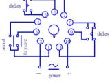 Time Delay Relay Wiring Diagram Electrical Timer Wiring Diagram Wiring Diagram Review