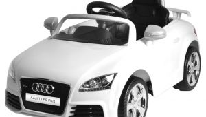 Toddler Audi Electric Car Mera toy Shop Plastic Audi Tt Rs Plus Electric Motor Car White