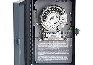 Tork Time Clock Wiring Diagram Nsi Industries tork 1109a Indoor 40 Amp Multi Volt Mechanical
