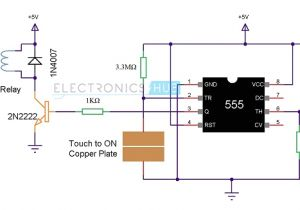 Touch Lamp Sensor Wiring Diagram Latching Water Sensor Circuit Diagram Tradeoficcom Wiring Diagram