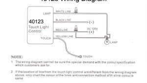 Touch Lamp Switch Wiring Diagram Lo Med Hi Off touch Lamp Control Switch 40123 B P Lamp Supply