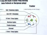 Trailer Lights Wiring Diagram 7 Pin Rv 7 Pin Trailer Wiring for Pinterest Data Schematic Diagram