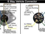 Trailer Plug Wiring Diagram 6 Way 6 Round Trailer Plug Wiring Diagram Wiring Diagram Expert