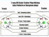 Trailer Tail Light Wiring Diagram 7 Way Rv Connector Wiring Diagram Inspirational Beautiful Trailer