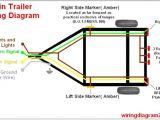 Trailer Wiring Diagram 4 Wire Chevy 4 Pin Trailer Wiring Diagram Schema Diagram Database