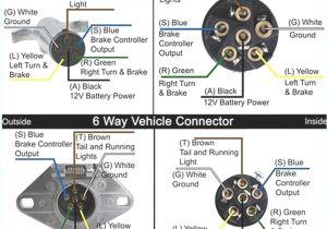 Trailer Wiring Diagram 7 Pin Flat 7 Pin to 6 Wiring Diagram Wiring Diagram Name