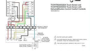 Trane thermostat Wiring Diagram Tutorial Trane Heat Pump Wiring Diagram Wiring Diagram Note