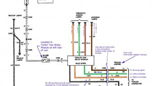 Truck and Trailer Wiring Diagram Wiring Diagram 1996 F350 Trailer Wiring Diagram Operations