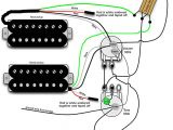 Two Humbucker Wiring Diagram B Guitar Wiring Diagram Wiring Diagram Review