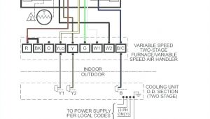 Two Stage thermostat Wiring Diagram Two Stage Furnace Wiring Wiring Diagram Sheet