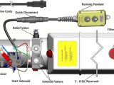 Up Down Stop Switch Wiring Diagram Installation Instructions 12 Vdc Double Acting Kti Hydraulics Inc