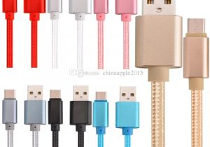 Usb Cable Wire Diagram Od 5 0 Strong Braided Alloy Type C Usb C Micro Fabric Usb Cable Data