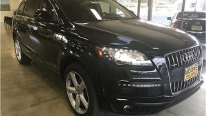 Used Audi 3rd Row 2015 Used Audi Q7 Blind Spot Alert Panorama Roof Third Row