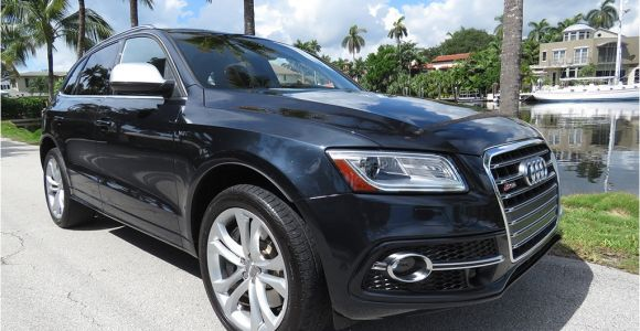 Used Audi Qs5 2014 Used Audi Sq5 Quattro 4dr 3 0t Prestige at Choice Auto Brokers