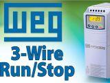 Vfd Starter Wiring Diagram Vfd 3 Wire Vfd Control Tutorial Weg Cfw300 Variable Frequency