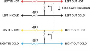 Volume Control Speaker Wiring Diagram On the Bench Diy Monitor Controller Audiotechnology