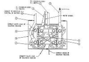 Warn Winch Contactor Wiring Diagram Warn solenoid Wiring Diagram How to Wire Up A Warn M8000 Winch with
