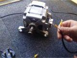 Washing Machine Motor Wiring Diagram How to Wire A Washing Machine Motor Youtube