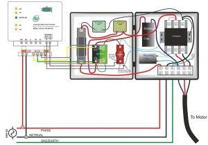 Water Pump Wiring Diagram Single Phase Pump Contactor Wiring Diagram Data Schematic Diagram