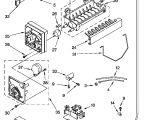 Whirlpool Ice Maker Wiring Diagram Looking for Whirlpool Model Ed25rfxfw01 Side by Side Refrigerator